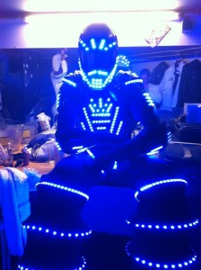 performer robot led lorraine
